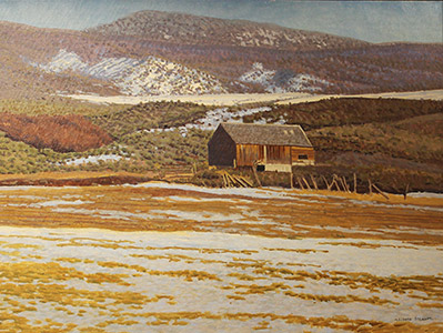 Painting: Northern Exposure by LeConte Stewart