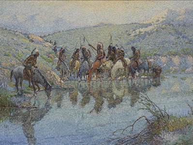 Painting: Appeal to the Great Spirit by J. T. Harwood