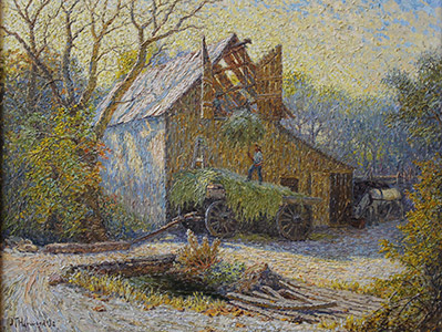 Painting: Pioneer Relic by J. T. Harwood