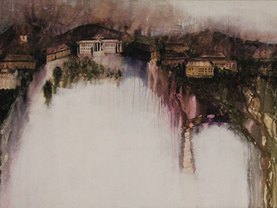 Painting: Presidents Circle by Donald Brady