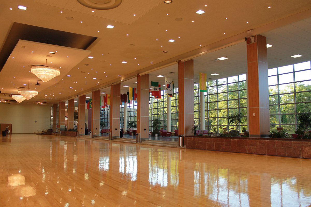 ballroom  full
