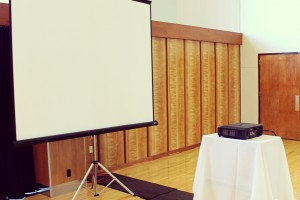 A photo of Projection Screen