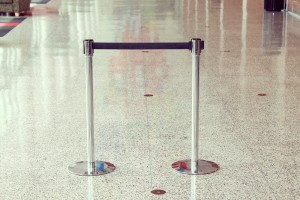 A photo of Stanchions