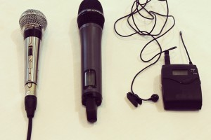 A photo of Microphones and Lavaliers