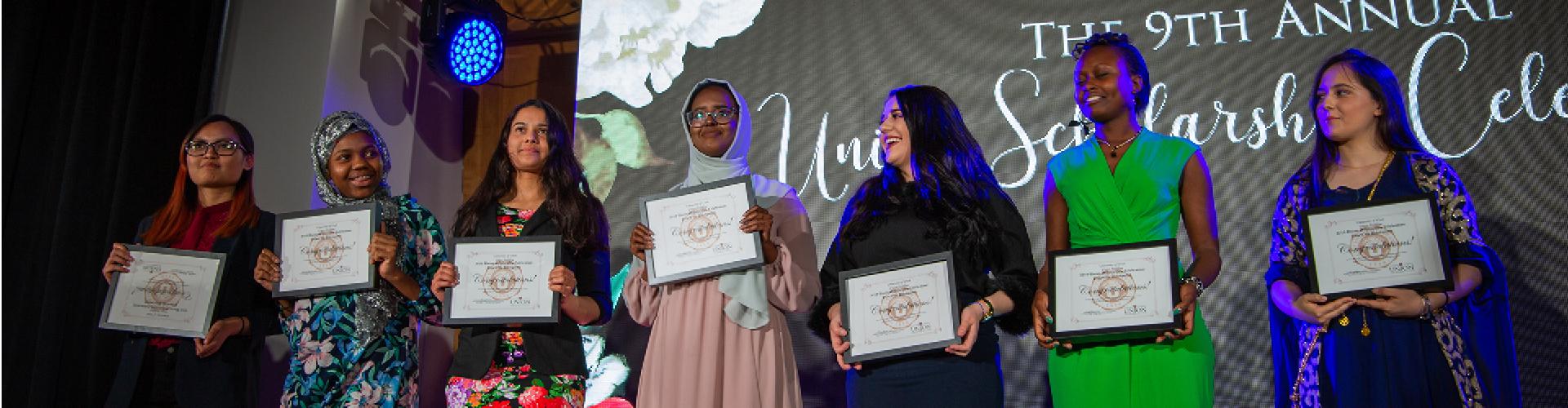 Union Scholarship Recipients