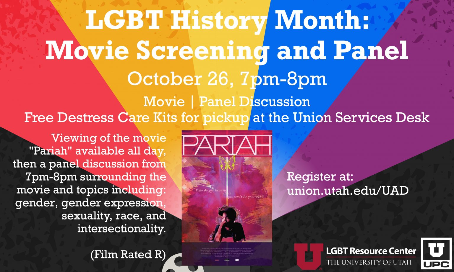 LGBT History Month: Movie Screening and Panel